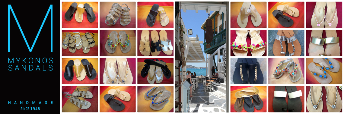 Mykonos Sandals Handmade Since 1948