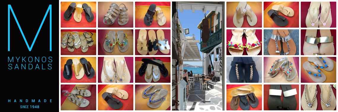 Mykonos Sandals Handmade Since 1948
