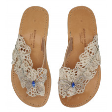 Lace and Butterfly Sandal