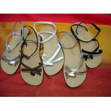 Delicate Ankle Strap Sandals in Various Colours