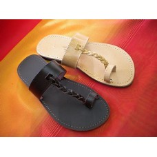 Plait Toe Loop Sandal