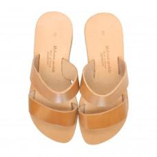 Two Strap Heeled Sandal
