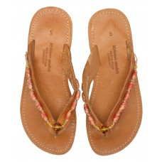 Wooden Bead Sandal